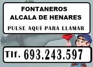 Fontaneros Alcala Urgentes