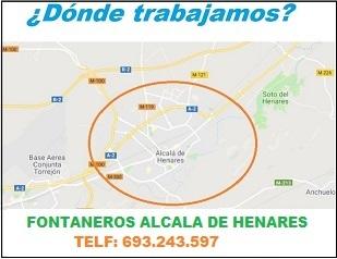 ¿ en que zonas de Alcala de Henares trabajamos ?