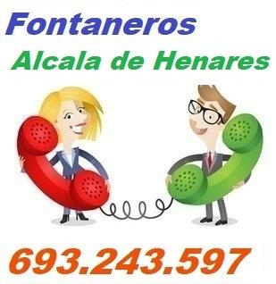 Telefono de la empresa fontaneros Alcala de Henares